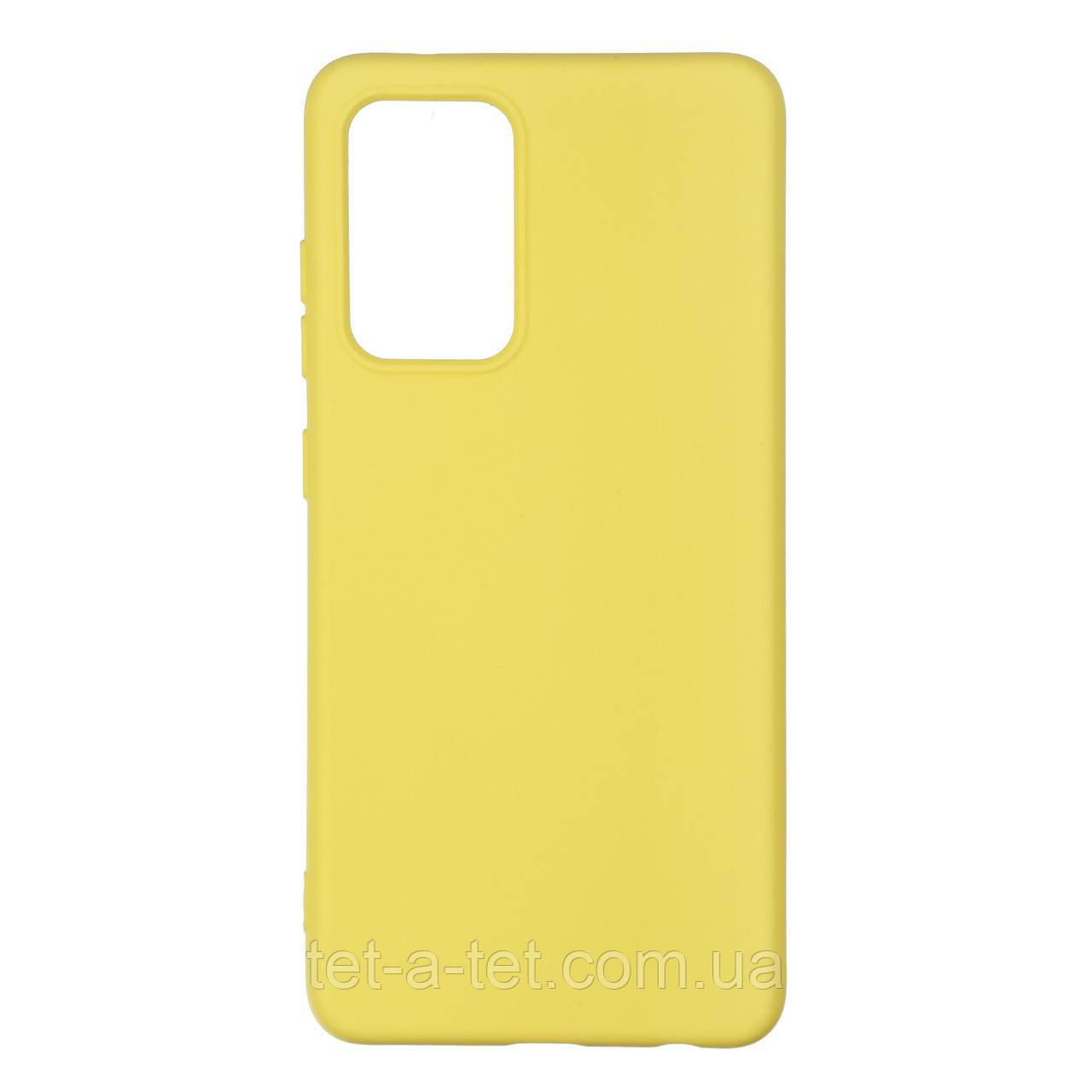 Чохол силіконовий ArmorStandart ICON Case for Samsung A52 (A525) Yellow