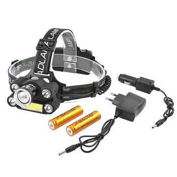 Налобный светодиодный фонарь Police BL-T64+COB
