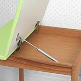 Дитячий дерев'яний столик з ящиком і стільчик 04-025G-BOX зелений, фото 2