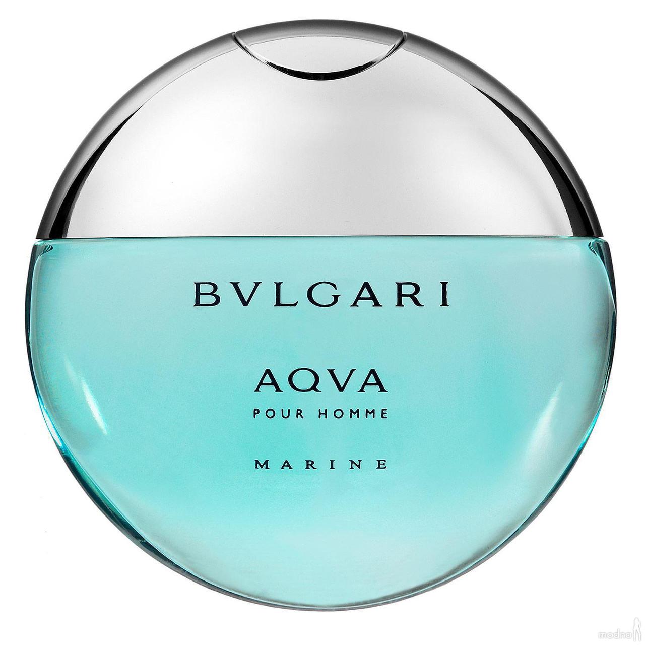 Bvlgari Aqva Pour Homme Marine туалетная вода 100 ml. (Тестер Булгари Аква Пур Хом Марин)