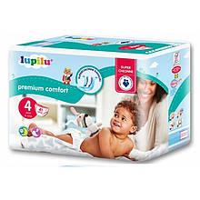 Подгузники Lupilu Premium Comfort 4 (7-18 кг) 41 шт