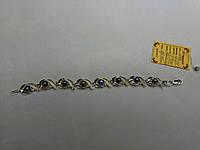 Женский серебряный браслет с круглым жемчугом