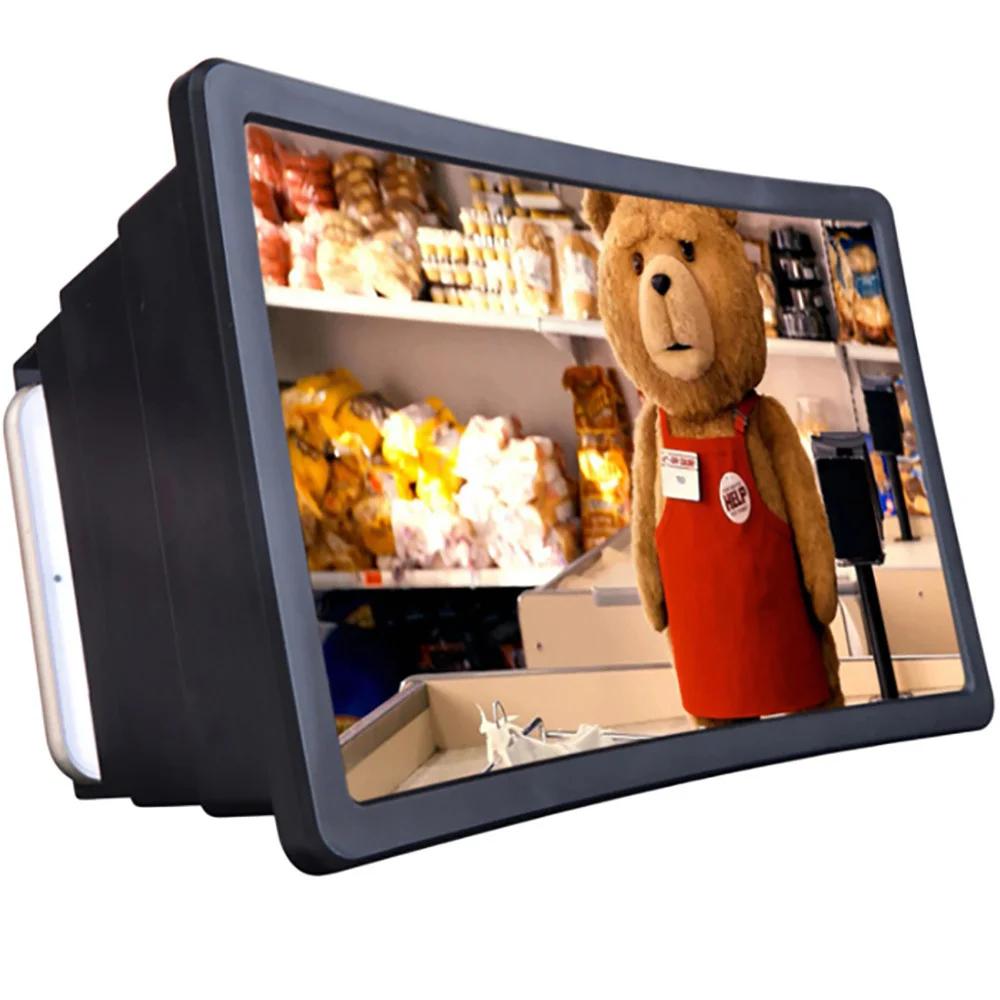 Увеличитель экрана F2 Black ПВХ ABS для мобильных камера с линзой 3-х