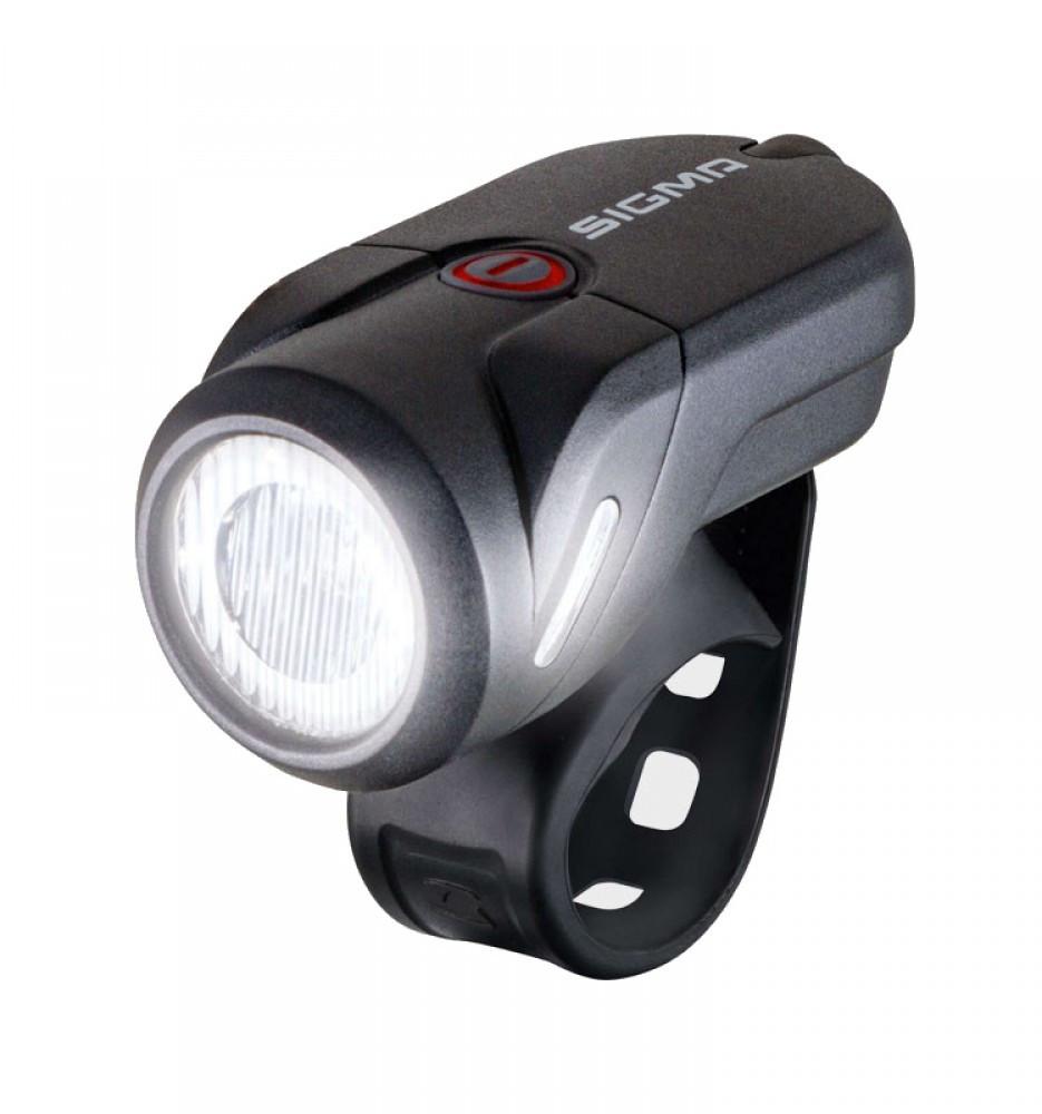 Передній ліхтар Sigma Sport Aura 35 Lm USB Чорний SD17350