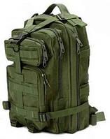 Тактический штурмовой военный городской рюкзак на 23-25литров Олива