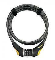 Велозамок кодовий Onguard 8042 AKITA 185см х 10мм Чорний LCK-37-06, фото 1