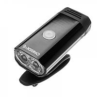 Передній ліхтар ONRIDE Glow USB 400 Lm Чорний 69079900035, фото 1