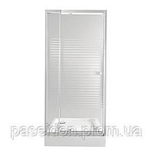 Набір Qtap двері в нішу Pisces WHI208-9.CP5 + піддон Unisquare 308815