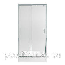 Набор Qtap дверь в нишу Taurus CRM201-11.C6 + поддон Unisquare 301115