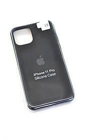 Чохол для телефону iPhone 11Pro Silicone Case original FULL №9 black