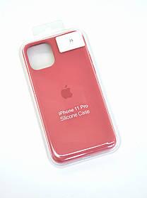 Чохол для телефону iPhone 11Pro Silicone Case original FULL №13 camelia