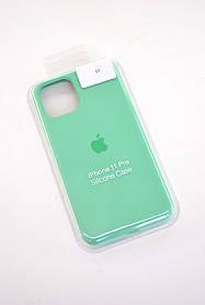 Чохол для телефону iPhone 11Pro Silicone Case original FULL №29 grass