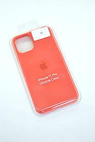 Чохол для телефону iPhone 11Pro Silicone Case original FULL №22 new apricot