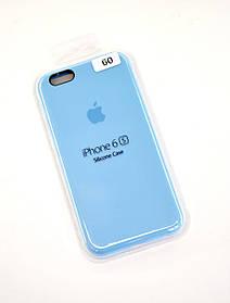 Чохол для телефону iPhone 6 / 6S Silicone Case original FULL №25 sea blue