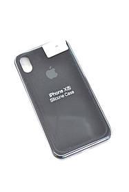 Чохол для телефону iPhone XR Silicone Case original FULL №9 black