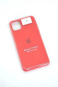 Чохол для телефону iPhone 11ProMax Silicone Case original FULL №10 red