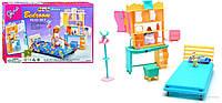 """Набор кукольной мебели для барби Gloria 21014 """"Спальня"""""""