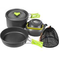 Набор посуды походный для кемпинга Cooking Set DS-308