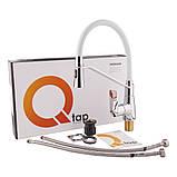Змішувач для кухні з рефлекторним виливом Qtap Estet CRW 007F, фото 6