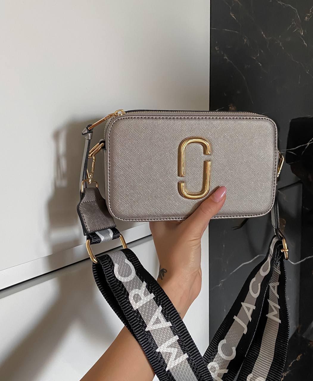 """Сумка Marc Jacobs Snapshot Silver """"Серебристая"""""""