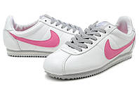 Женские кроссовки Nike Cortez Classic White/Pink