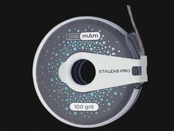 Сменный файл-лента papмAм EXCLUSIVE в пластиковой катушке STALEKS PRO 100 грит