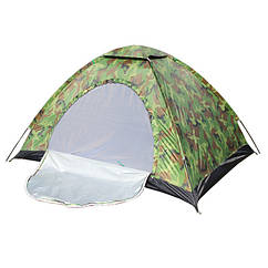 Палатка туристична Stenson HY-1130 R17758 Camo чотиримісна Камуфляж (006027)