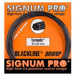 Струни тенісні Signum Pro Tornado 12.2 м Чорні (105)