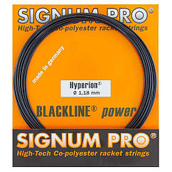 Струни тенісні Signum Hyperion Pro 12.2 м Чорні (108)