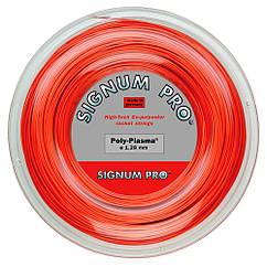 Струни тенісні Signum Pro Poly Plasma 200 м Червоні (109)