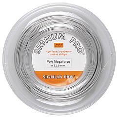 Струни тенісні Signum Pro Poly Megaforce 200 м Сірі (114)