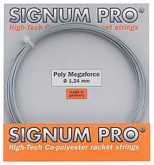 Струни тенісні Signum Pro Poly Megaforce 12.2 м Сірий(114)