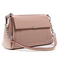 Женская кожаная сумочка-клатч 8721 light-rose. Купить женский кожаный клатч недорого в Украине, фото 1