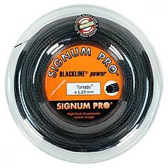 Струни тенісні Signum Pro Tornado 200 м Чорний (106-0-2)