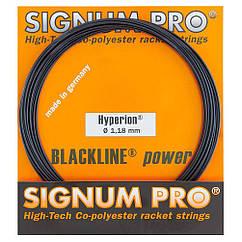 Струни тенісні Signum Hyperion Pro 12.2 м Чорний (108-0-0)