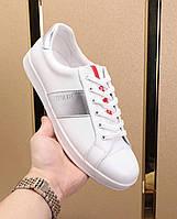 Мужская обувь в наличии! Материал:натуральная кожа. Комфортная мягкая подошва. Цвет: белый.