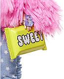 Кукла Barbie Extra Style Барби Экстра Стильная Модница - блондинка Doll #3 Pink GRN28, фото 6