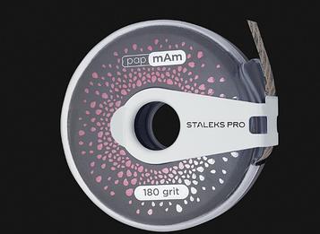 Змінний файл-стрічка рармАм EXCLUSIVE в пластиковій котушці STALEKS PRO 180 грит