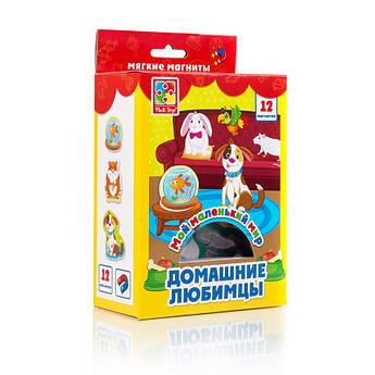 """Магниты для доски """"Домашние любимцы"""" VT3106-05, 12 магнитов в наборе"""