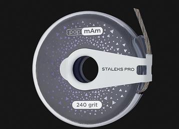 Змінний файл-стрічка рармАм EXCLUSIVE в пластиковій котушці STALEKS PRO 240 грит