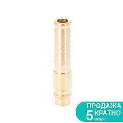 Штуцер для шлангу подовжений 10мм (латунь) SIGMA (7022631)