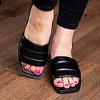 Шлепанцы женские Fashion Isis 2882 36 размер 23,5 см Черный, фото 2