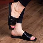 Шлепанцы женские Fashion Isis 2882 36 размер 23,5 см Черный, фото 3