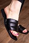 Шлепанцы женские Fashion Isis 2882 36 размер 23,5 см Черный, фото 5