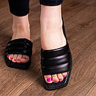 Шлепанцы женские Fashion Isis 2882 36 размер 23,5 см Черный, фото 6