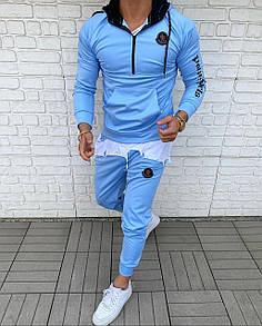 Мужской спортивный костюм Moncler Blue