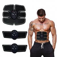Миостимулятор массажер для пресса и рук Smart Fitness Ems Trainer Fit Boot Toning 3в1