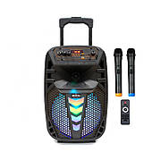 Активна акустична система BIG PRO 130TRANSFORMER USB/MP3/FM/BT/TWS + 2 бездротових мікрофона 130 Вт