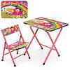 Столик A19-ABC стіл 40*60 см, 1 стільчик, кор., діти.