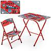 Столик A19-SPORT стіл 40*60 см, 1 стільчик, кор., спорт.